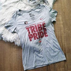 Nike FSU Florida State Seminoles Short Sleeve Slim